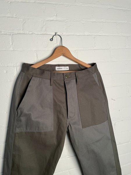 3Sixteen Fatigue Pants - Olive Block HBT