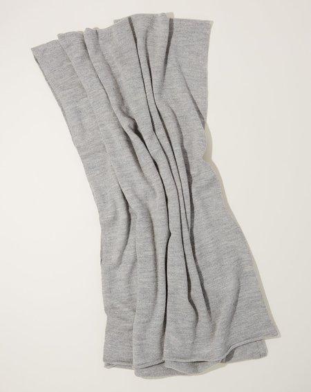 Lauren Manoogian Fine Wide Scarf - Light Grey