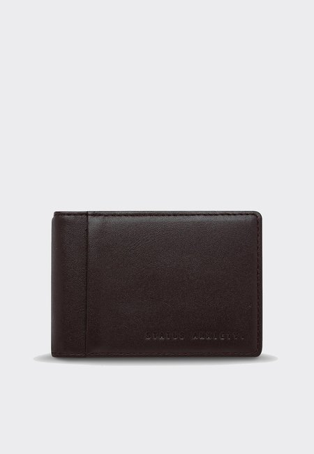 Status Anxiety Melvin Wallet - Chocolate