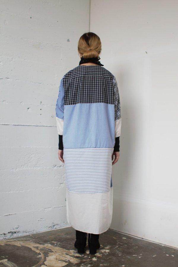 Alexa Stark patchwork dress