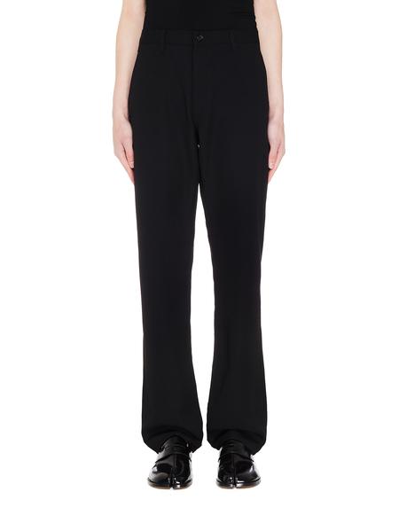 Comme des Garcons Homme plus Wool Trousers - Black