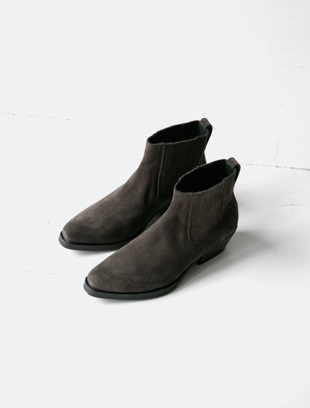 Our Legacy Cuban Boot - Espresso Suede