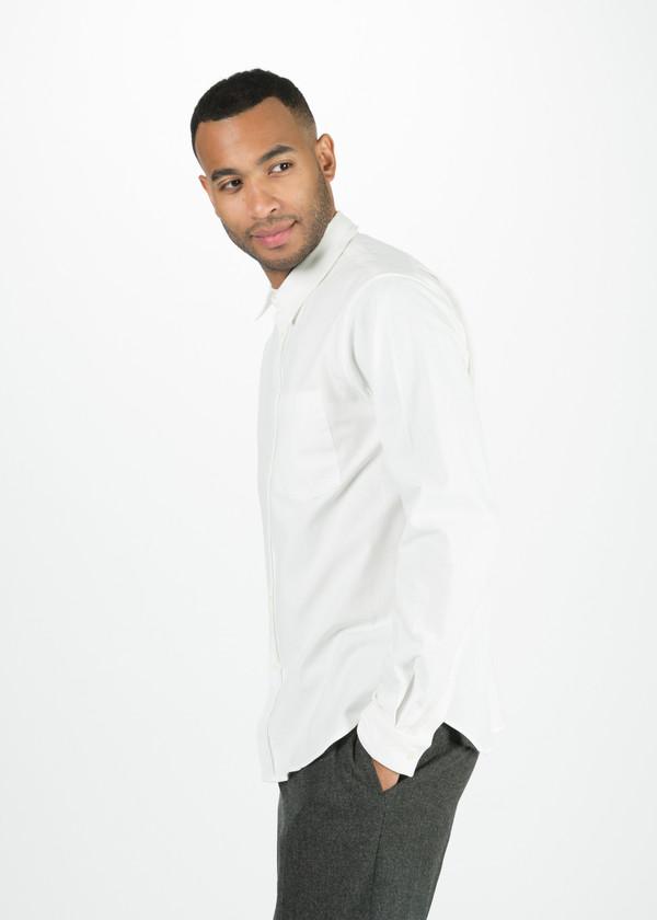 Men's Margaret Howell Raw Cotton Slim Work Shirt