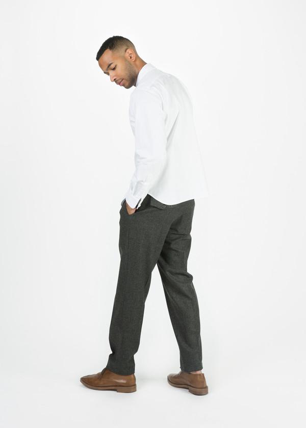 Margaret Howell Slim Soft Wool Trouser