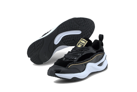 Puma X Charlotte Olympia Rise NU Sneakers - Black/White