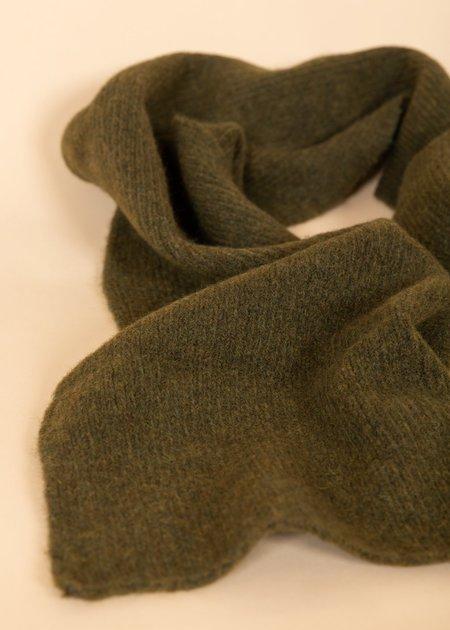 Homecore Baby Alpaca Wool Scarf - Artichoke