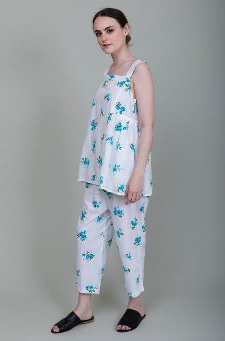 Domi Sleepwear Chemise and Pant Set - Azure