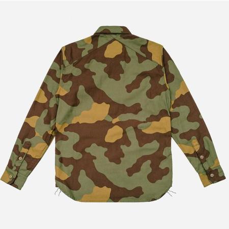3Sixteen CPO Shirt - Back Satin Camo