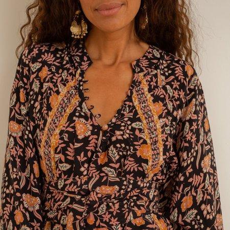 Natalie Martin Fiore Maxi Dress - Sweet Autumn Black