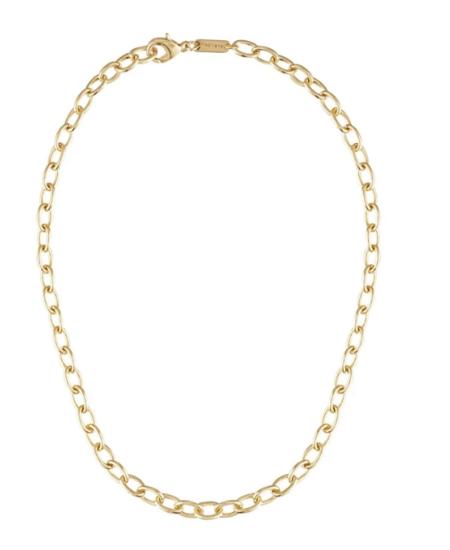 Machete Gold Oval Link Chain
