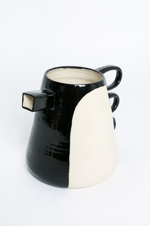 BTW Ceramics Pitcher in Contrast Series