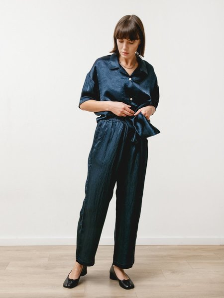 Priory Vista Pant - Crushed Slinky Navy