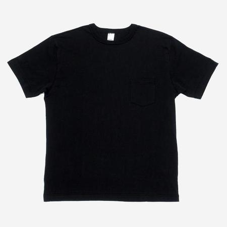 3Sixteen Pima Cotton Pocket T Shirt - Black