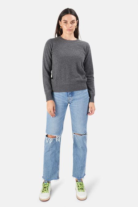 Naadam Crewneck Pullover Sweater - Granite