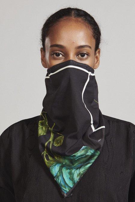 Rachel Comey Corre Muff Mask Scarf - Black