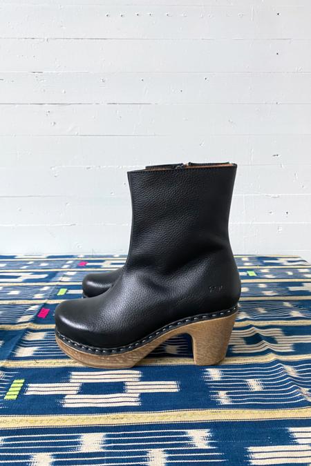 CALOU Molly Boot - Pebbled Black