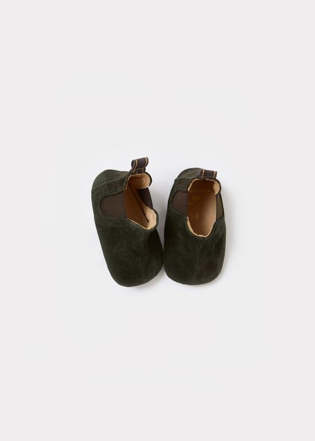Kids Caramel Pepe Suede Toddler Boots - Tourbe