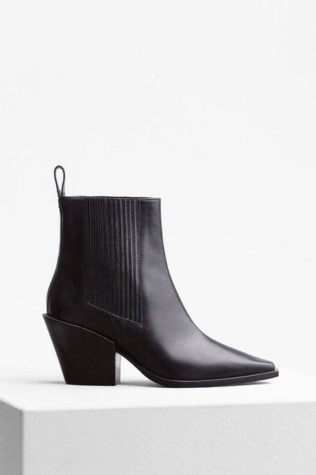 aeydē Kate Leather Boot - Black