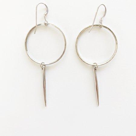 Bijoux B Endless Quill Earrings - Sterling Silver