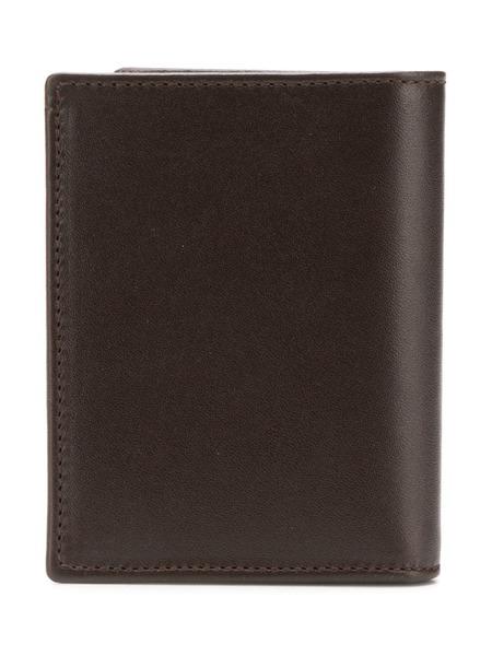 UNISEX COMME DES GARCONS classic bifold cardholder wallet - Brown
