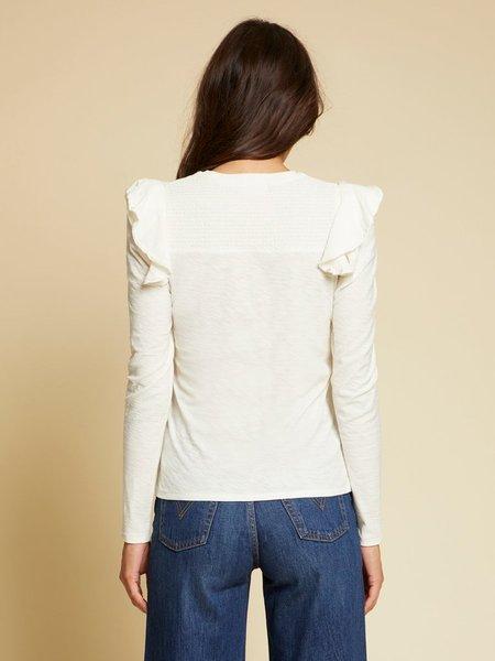 Nation Ltd Dalila Long Sleeve - Off White