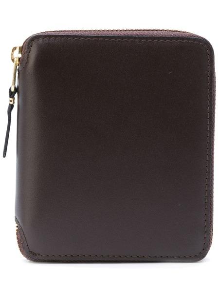 COMME DES GARCONS CLASSIC zip-around Large wallet - Brown