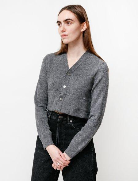 Comme des Garçons Cut Off Cardigan - Grey