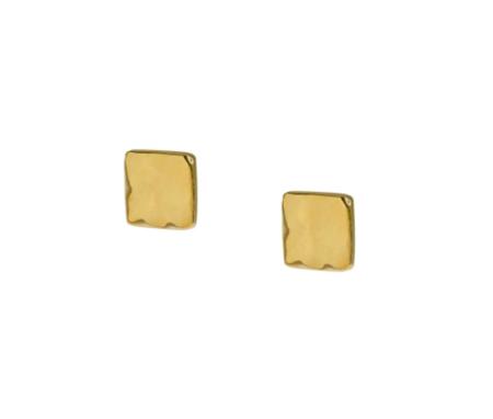 Soko Bahari Stud Earrings - Brass