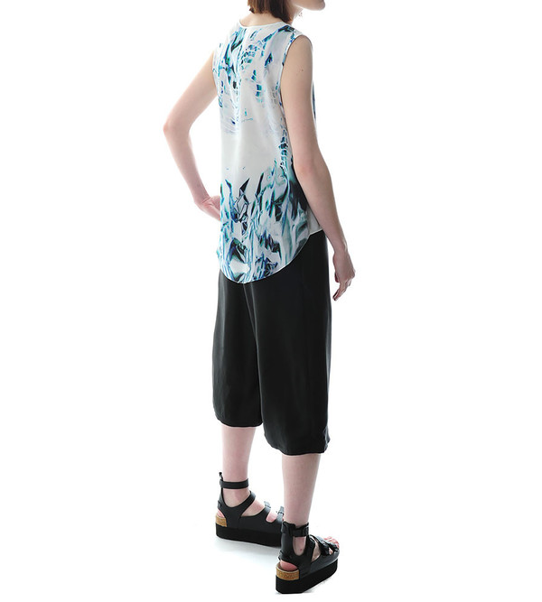 Public School Elongated Tank With Print