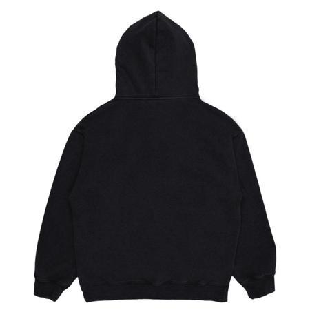 PLEASURES Burnout Dyed Hoody - Black