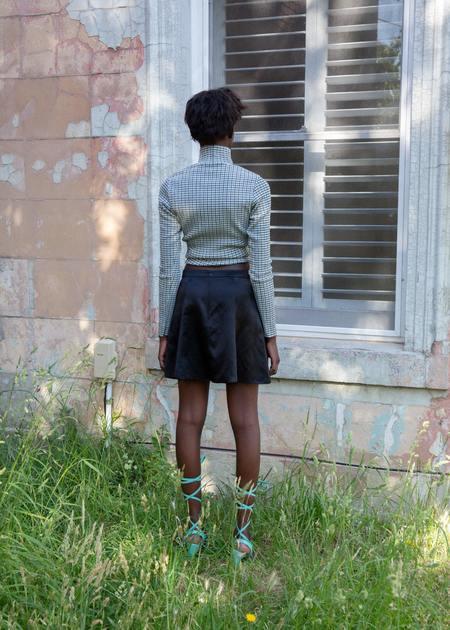 permanent vacation Evolution Silk Skirt - Black
