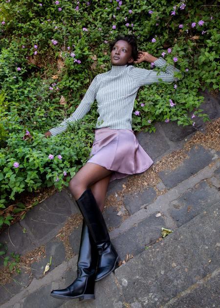 permanent vacation Evolution Silk Skirt - Mauve