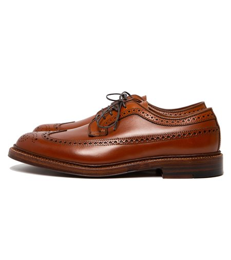 Alden Longwing Blucher - Burnished Tan Calfskin