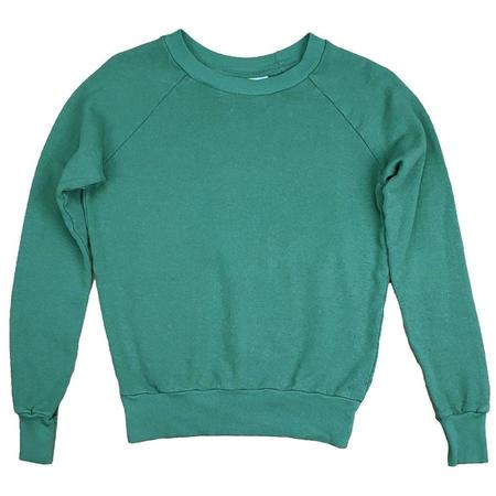 Unisex Jungmaven Alpine Raglan Sweatshirt - Spruce Green