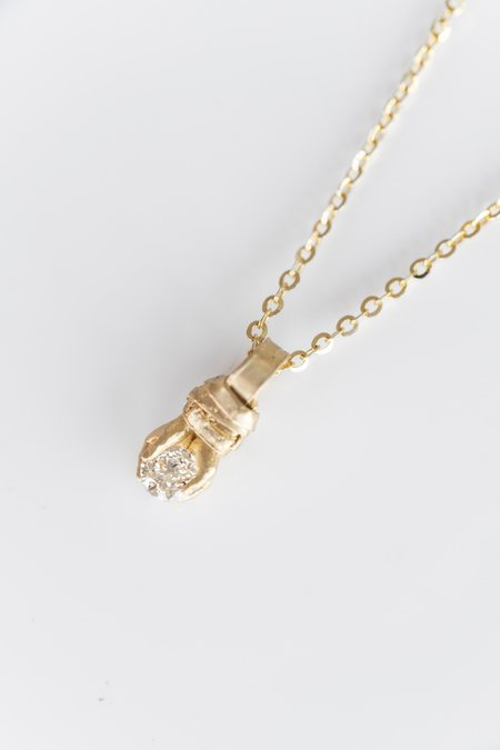 Fraser Hamilton 14K DIAMOND STOWAWAY PENDANT