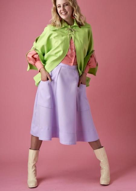 Ouimillie x MCK Glissé Pocket Skirt - Lilac
