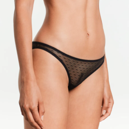 Yasmine Eslami Joanne Panty Mini Brief - Black