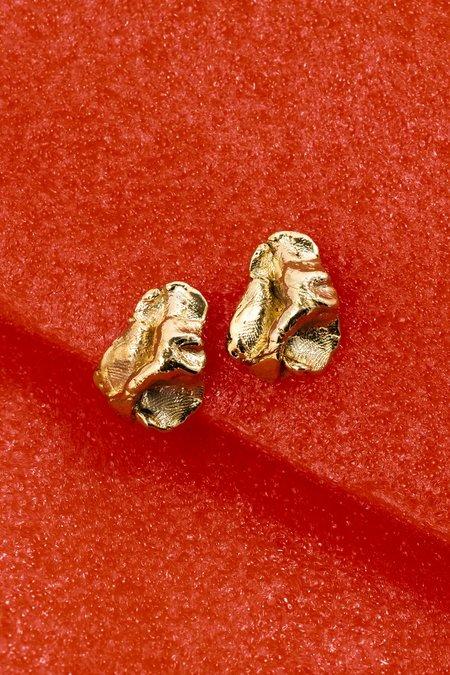 Eyde Cecelia Earrings - Brass
