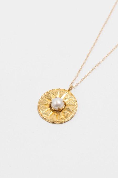 Ale Bremer ChainPoet Round Necklace - 14 K Gold