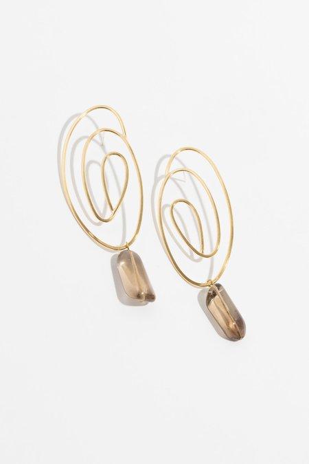 Laura Estrada Jewellery Swirl Earrings