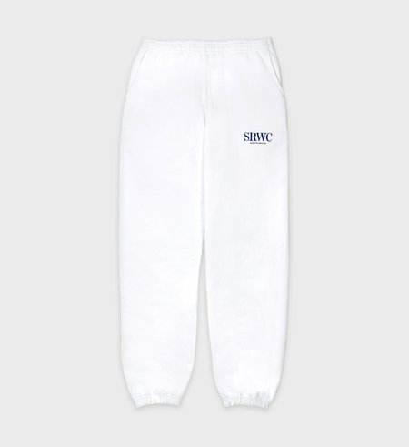 Rich Upper East Side Sweatpant - White