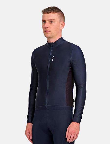 MAAP Vista Team Long Sleeve Jersey - Navy Blue