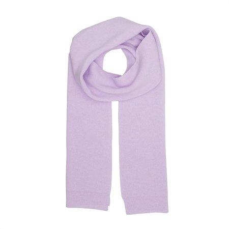 Unisex Colorful Standard Merino Wool Scarf - Lavender