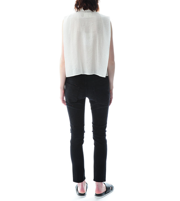 Nanushka Enki Sleeveless Tailored Shirt