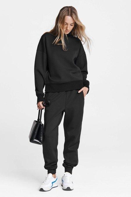 Rag & Bone Modular Zip Sweatpant - Black