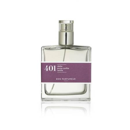 Bon Parfumeur 401 Cedar, Candied Plum Vanilla Eau de Parfum