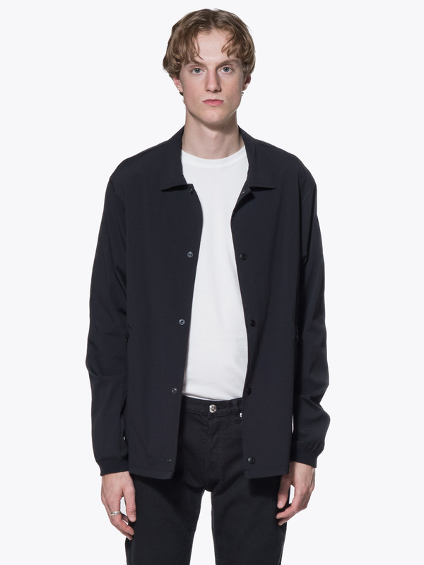 Men's Reigning Champ Woven Stretch Nylon Coach's Jacket