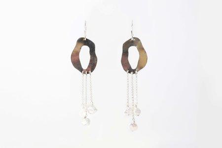 Chertova Penny Lane Earrings with Pearls - Sterling Silver