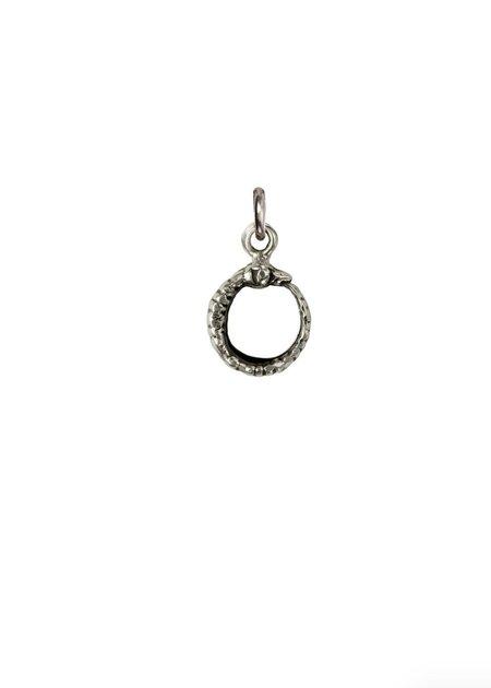 Pyrrha Ouroboros Symbol Charm - Bronze/Silver