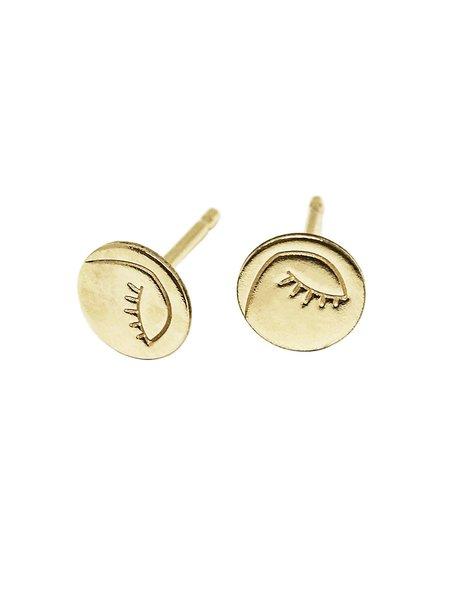 MERAKI BOUTIQUE Studs Hart & Stone Oriana Earing - Silver/GoldPlated